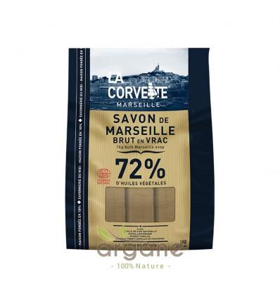 Savons de Marseille bruts Olive La Corvette en vrac – Sac de 1kg