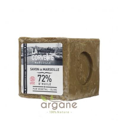 La Corvette Cube de Savon de Marseille Olive non filmé