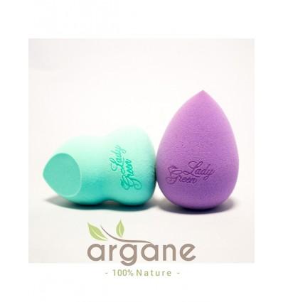 Beauty Blender Douceur Goutte Lady Green – Eponge à maquillage Violet