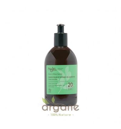 Najel savon d'alep liquide 20% HBL – 500ml