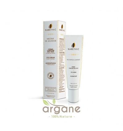 Karethic Nectar de Jeunesse Contour des Yeux 15 ml – Crème éclat 2 en 1