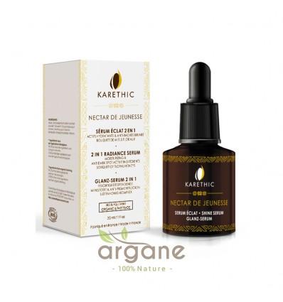 Karethic Nectar de Jeunesse – Sérum Eclat 2 en 1 - Anti-tâche 30 ml