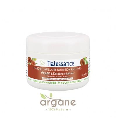 Natessance Masque Capillaire Nutrition Anti-âge