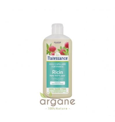 Natessance Huile de Ricin 250 ml - Cheveux et Ongles