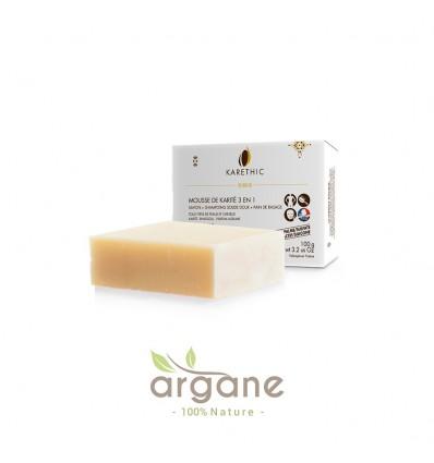 Savon-shampoing Solide Bio Karethic 3 en 1